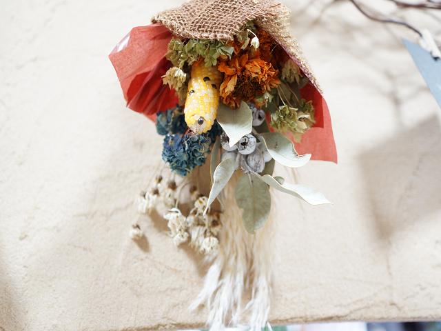 ドライフラワー花束
