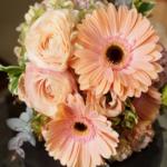ピンクガーベラ花束